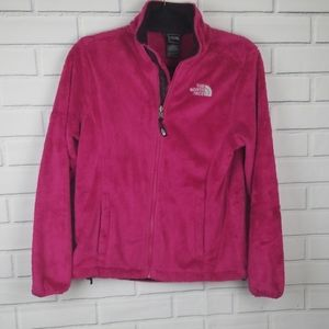 THE NORTH FACE SOFT FAUX FUR JACKET SIZE SP